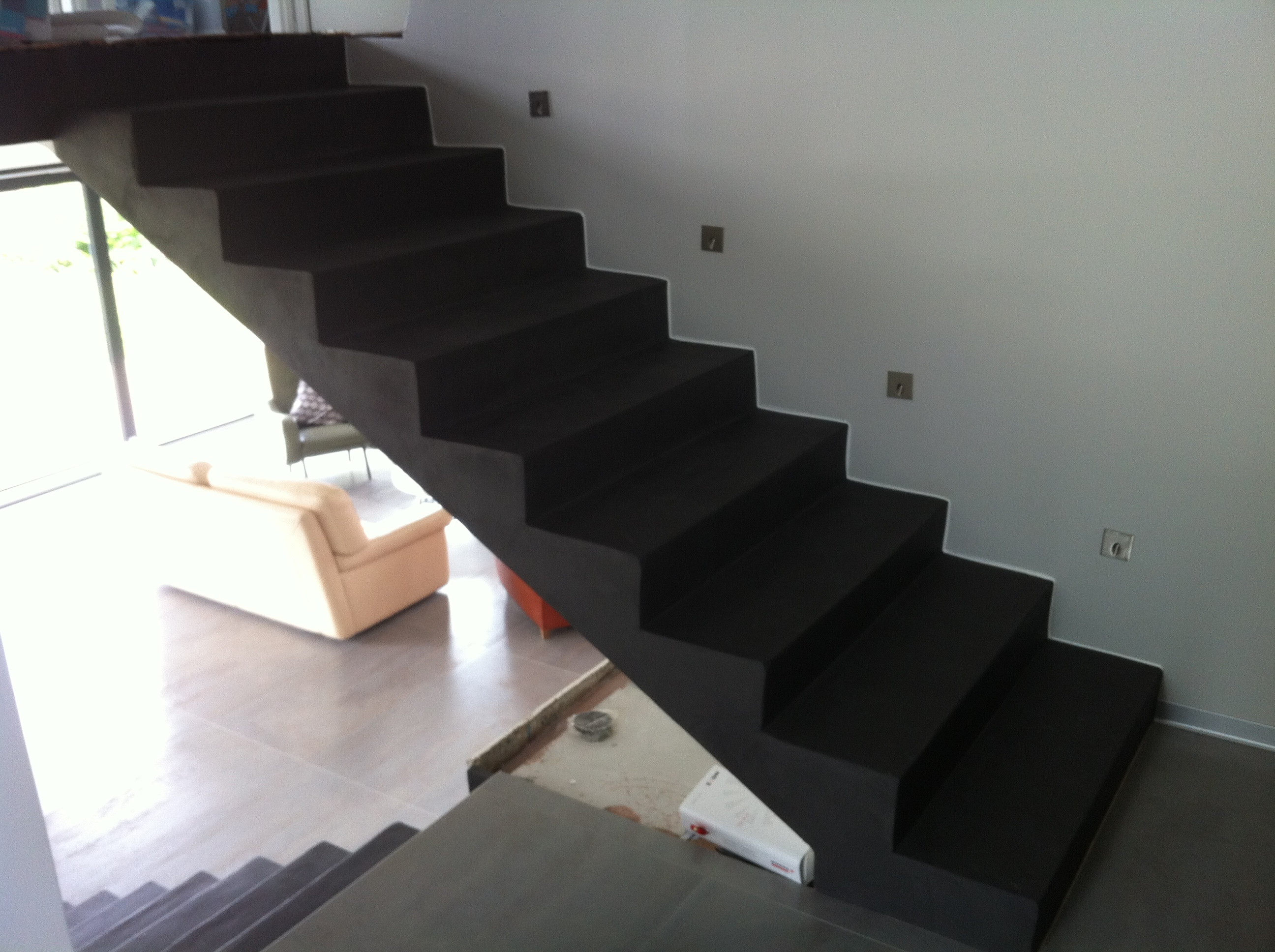 renovation escalier beton interieur dw71 jornalagora. Black Bedroom Furniture Sets. Home Design Ideas